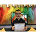 Elliot S in 5W - FOr giving 100% effort in everything he does