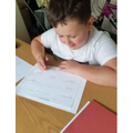 Olly B in 4W because he's worked so hard and shown wonderful enthusiasm for his homework