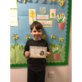 Oliver A in 2W - For trying very hard to make the right choice