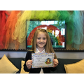 Daizy K in 6W for great descriptive writing