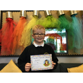 Blake B in 5W for showing kindness to others