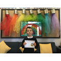 Zachary from 2R for completing all of his work to a high standard.