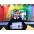 Kian in 4W for behaving wonderfully and always helping out.