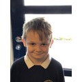 Kieran A in 3W - For always working hard and trying his very best