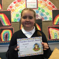 Scarlett M in 6W for Outstanding effort and commitment to learning