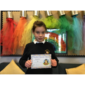 Ava T in 6R for outstanding work