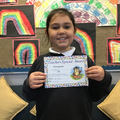 Lacey B in 5R for her determination and fantastic attitude to learning