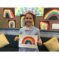 Erin G in 4W for working her socks off and displaying excellent manners at all times.