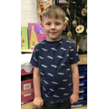 Mason O in 1R - For his excellent engagement with learning
