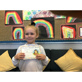 Lacey J in 3W for always trying her very best, being super smiley and kind.