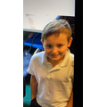 Leo M in 4R - For having a fantastic attitude to home learning