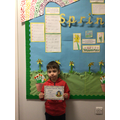 Fynn G in 1W - For his excellent drawings of robot's