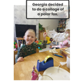 Georgia A in RR - For working very hard in phonics at home & at school