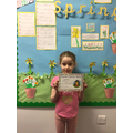 Seren L in 2W - For always giving 100% to everything she does