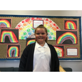 Shaye R in 6W has had a fantastic start to year 6