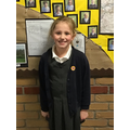 Lily-Faye P in 3W - For working her socks off and having a brilliant attitude to learning