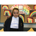 Daisy M in 5R for writing a fantastic diary entry