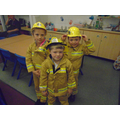 We became real life fire fighters!
