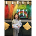 Daisy-Mae B in 4R - For being a kind & caring member of class & always working hard