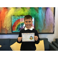 Jack in 5R for exemplary manners and a fantastic attitude to learning.