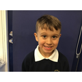 Freddie M in 2W - For his amazing effort and hard work with his home learning
