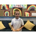 Lucas T in 2R has worked hard in all of his lessons - a superstar