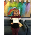 Gabriel D in 5R - For making a super effort with his work