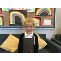 Lily H in RW for trying so hard this week - We are so proud!