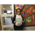 Katie K in 6R - For having a fantastic attitude during lockdown