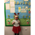 Marnie-Rae M in 1R - For working very hard and trying her best