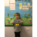 Riley B in RW - For trying his best with maths