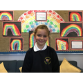 Mia G in 4R has settled in to class well and is working really hard