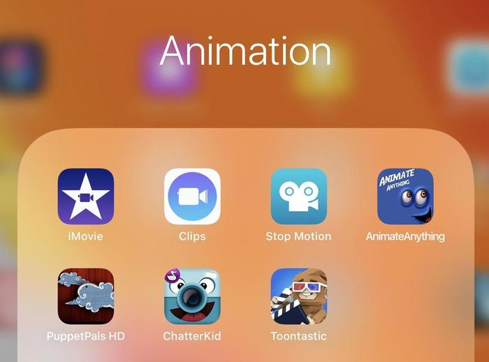 Our favourites are StopMotion and chatterpix