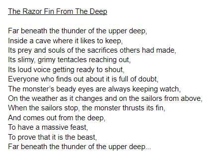 Charlotte's poem