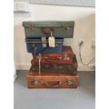 NMA Evacuee Suitcases