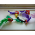 We had a go at making our own birds!