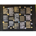 Just some of the fabulous 'Night Sky' poems written in English.