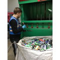 Matthew at Can Can Recycling