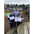 Niamh and Thomas receive World Book Day award