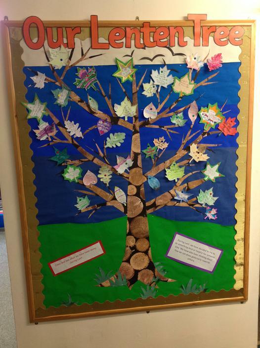 Our Lenten Tree