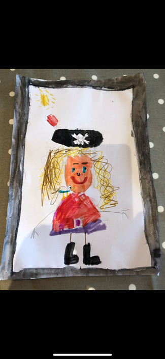 Betty the pirate!