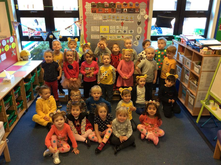 The children enjoyed supporting Children In Need.