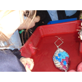 We all had to design and build a boat out of foil!
