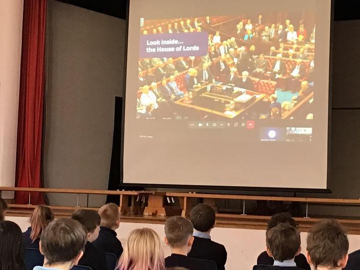 PSHE: UK Parliament virtual workshop