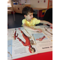 In Science we have been looking at the body.
