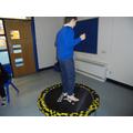 Sensory trampoline time
