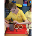 Making Healthy Pitta Pizzas