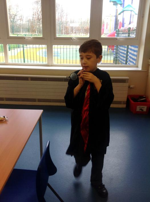 Harry Potter on World Book Day!