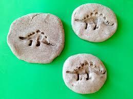Salt dough fossil