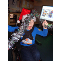 Excited with Tinsel